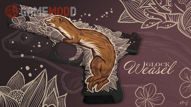 CSGO Glock-18 Weasel