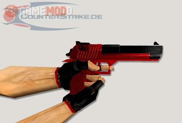 Deagle Black and Red