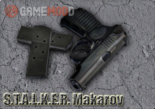 STALKER Makarov On Kopter Anims