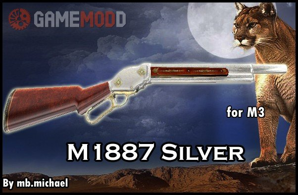 M1887 Silver for M3
