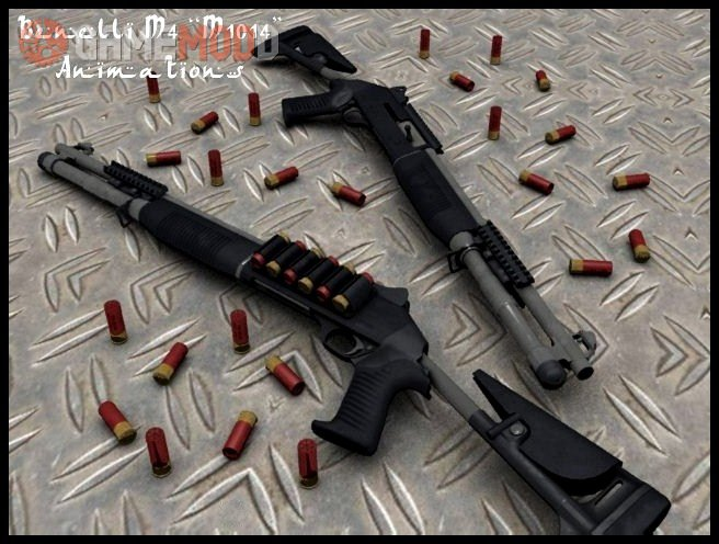Benelli M1014 On X rock X's Animations