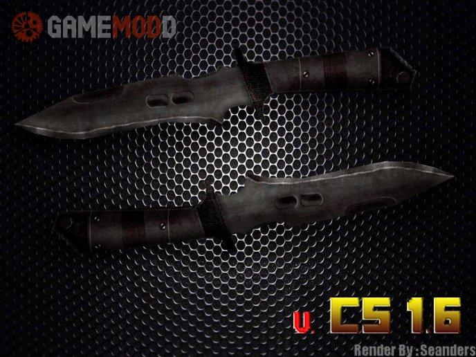 Default Knife on Kokorov's Texture with BP's anims