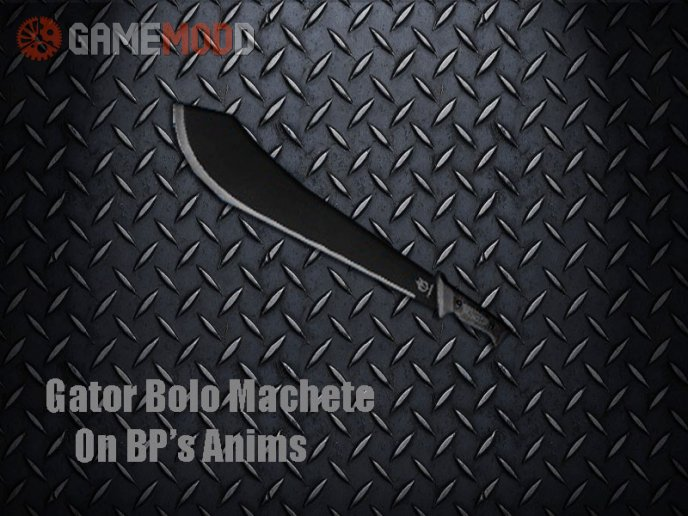 Gator Bolo Machete on BP's Animation