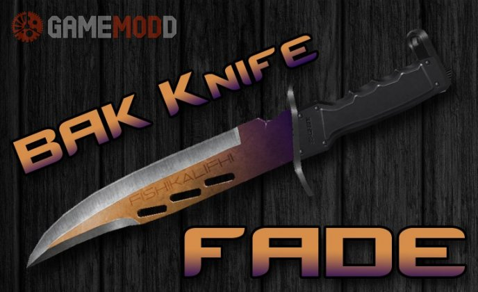 BAK Knife | Fade (On classic animations)
