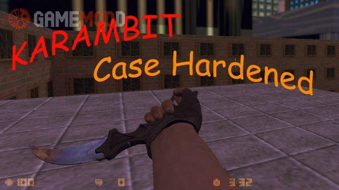 Karambit|Case Hardened