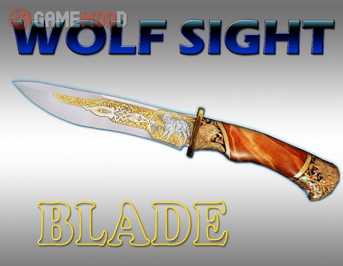 Wolf sight blade