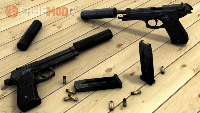 Beretta M9 port