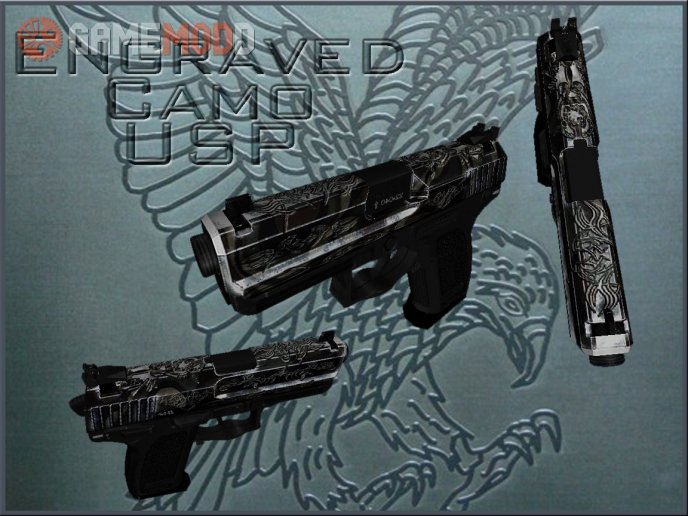 KFUS Engraved Camo USP
