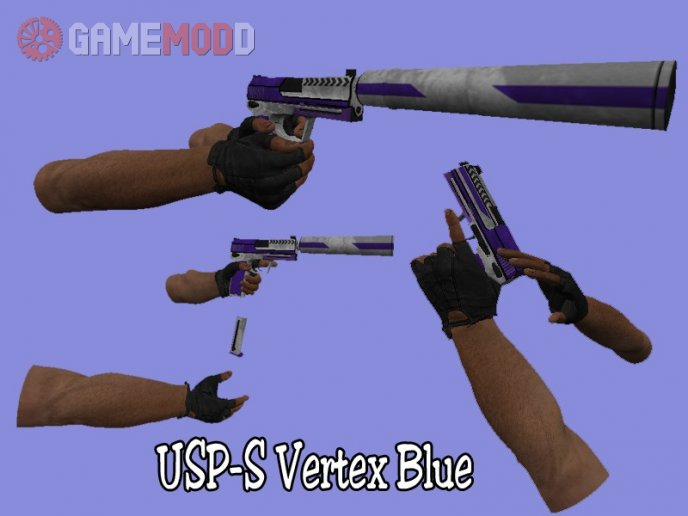 USP-S Vexter Blue