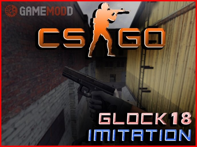 [CS 1.6] CSGO Glock Animation Imitation