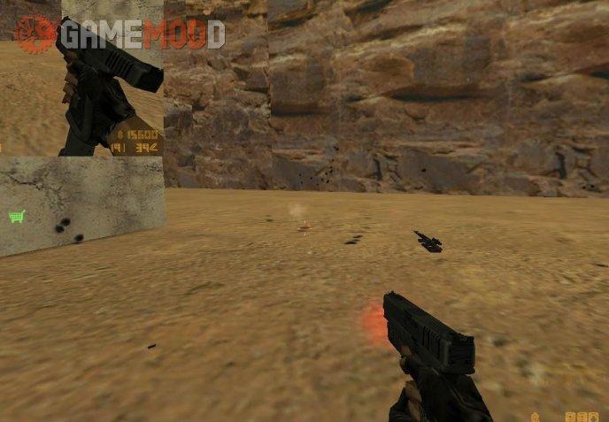 Glock 18 w laser