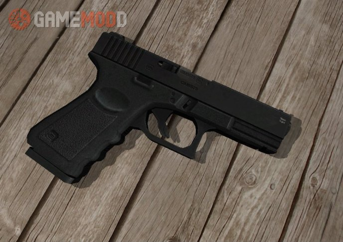 High-quality skin Glock. Good for replacing the standard model.