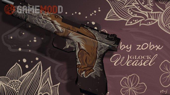 Glock-18  Weasel In Default Glock