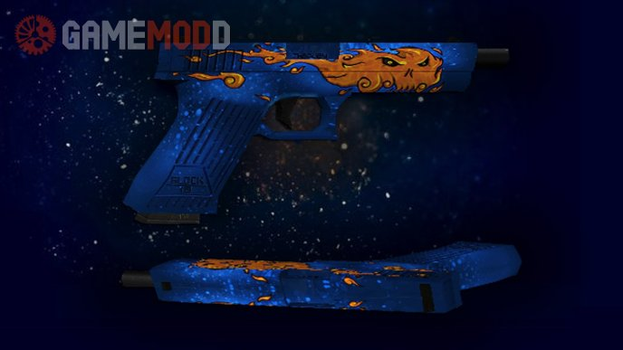 Glock-18  Fire Elemental