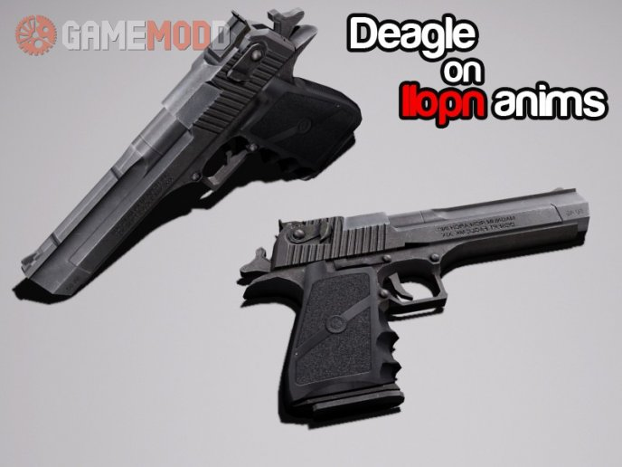 Deagle on IIopn animations