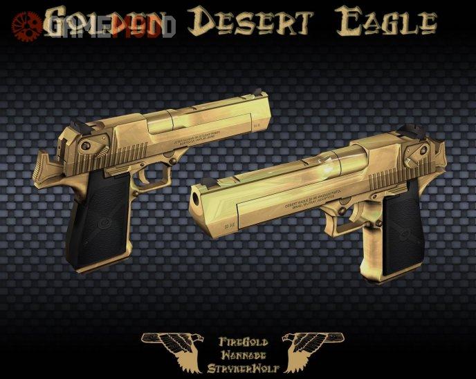 Gold Deagle