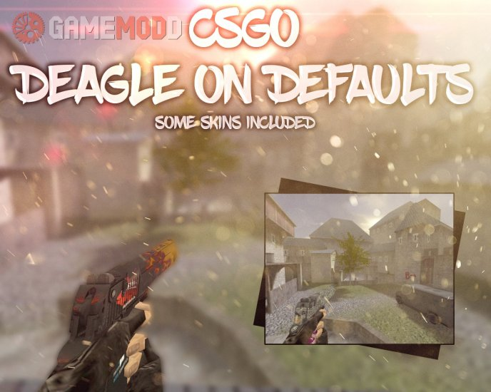 CSGO Deagle on default animations
