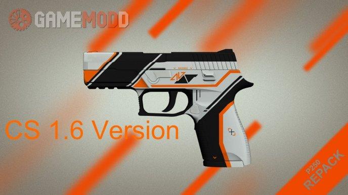 CSGO P250 Asiimov for CS 1.6