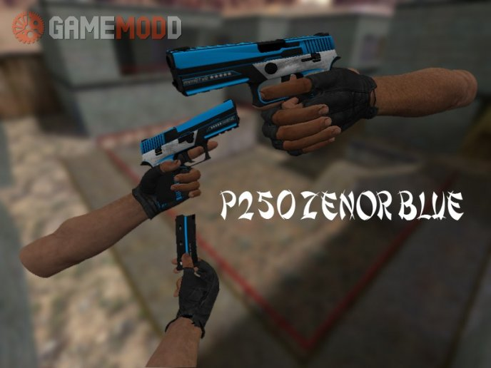 GSGO P250 Zenor Blue