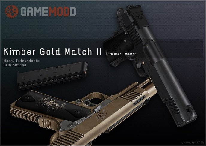 Kimber Gold Match II On MRDeadlyFPS