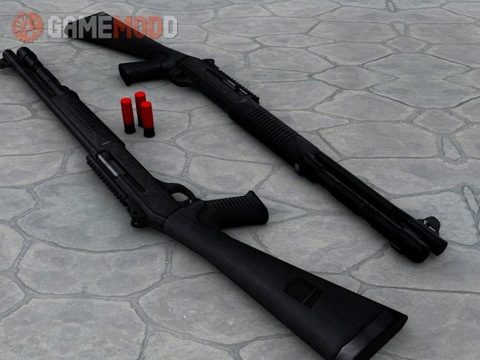 Millenia - Dual Benelli M4 Super 90 On Mullet's