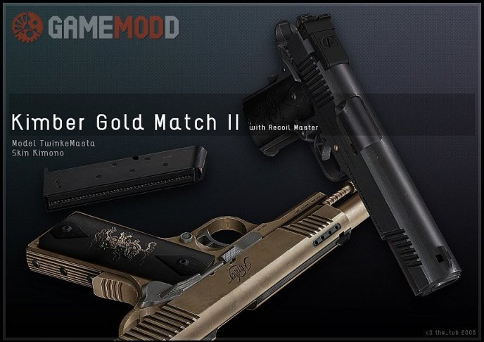 Dual Kimber Gold Match II On IIopn's Dual M92f