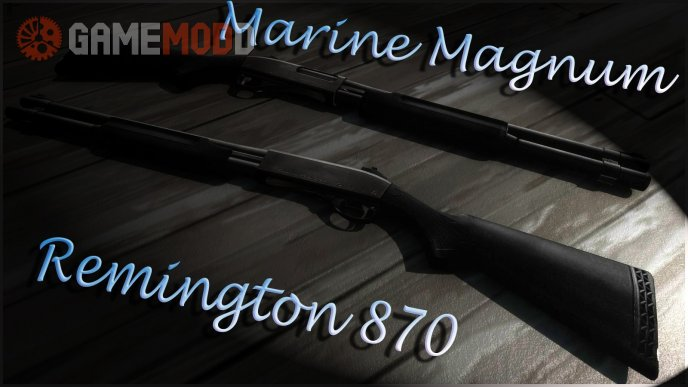 Remington 870 On Mr. Bright