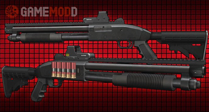 Tactical Mossberg For Cs 1.6