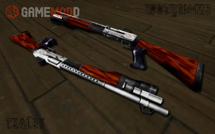 Wooden Benelli M3 Super 90