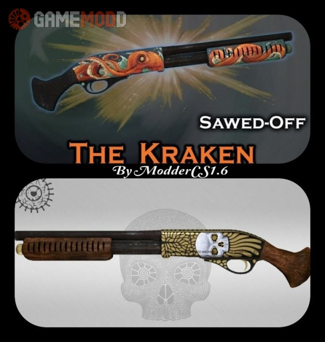 Sawed Off  The Kraken and Yorick