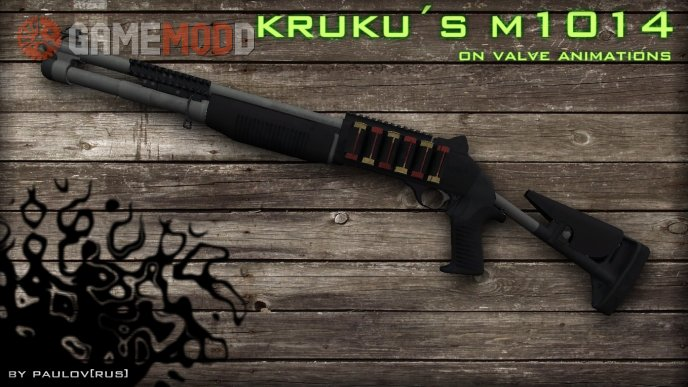 Benelli XM1014 on Valve Anims