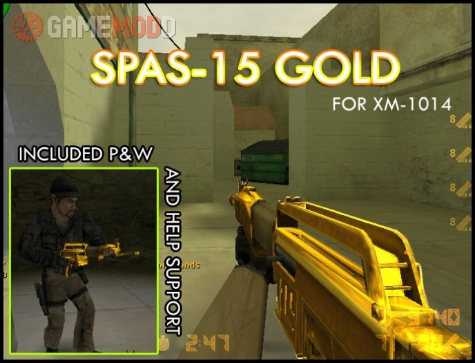 SPAS-15 Gold for XM1014