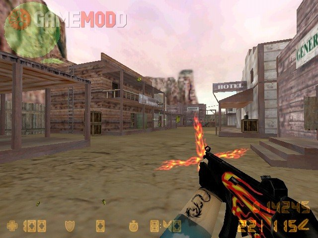 Fire Style Mp5