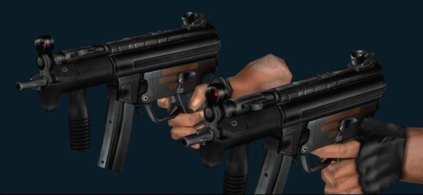 Heckler & Koch MP5k Dual