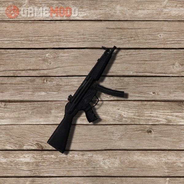 Millenia textures on Twinke MP5