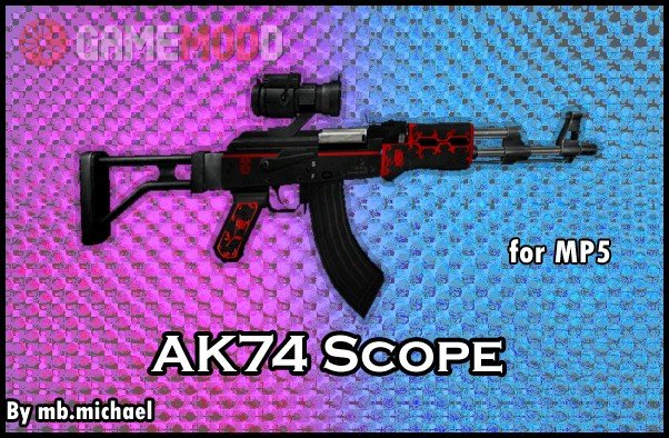 AK74 Scope for mp5
