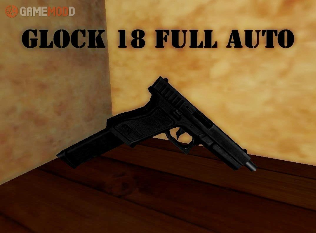 Glock 18 Full Auto » CS 1 6 - Skins Weapons MAC-10 | GAMEMODD