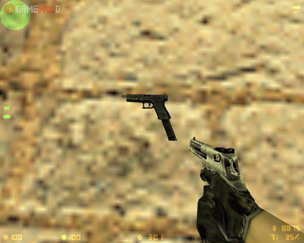 Glock 18 Full Auto » CS 1.6 - Skins Weapons MAC-10 | GAMEMODD