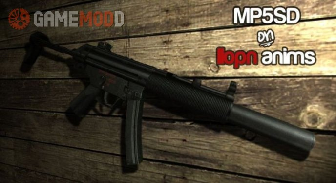 MP5SD on IIopn animations