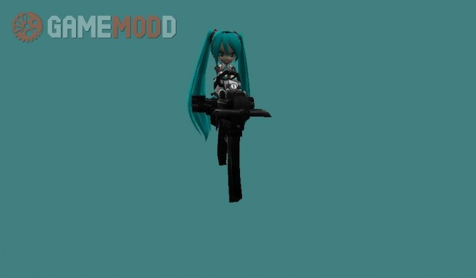 Hatsune Miku Cartblue for Mp5