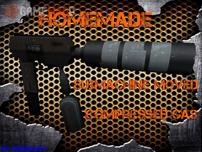 [CS 1.6] Homemade submachine moved compressed gas