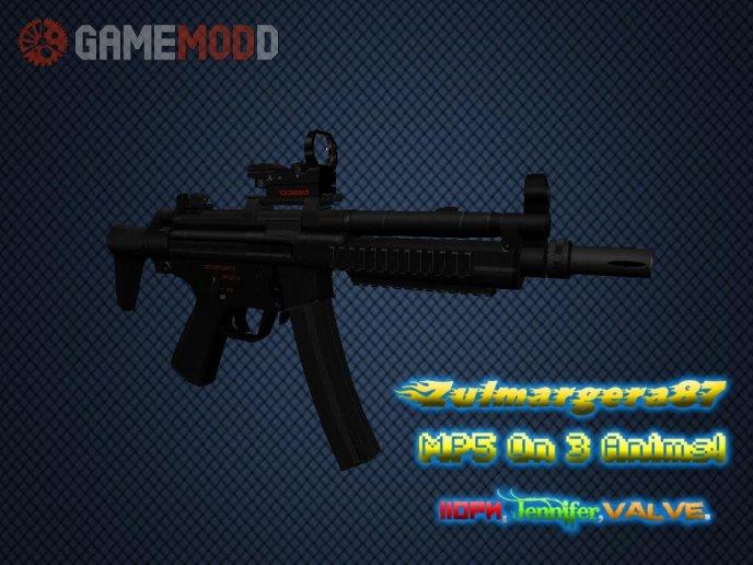 Zul's MP5 on 3 Anims