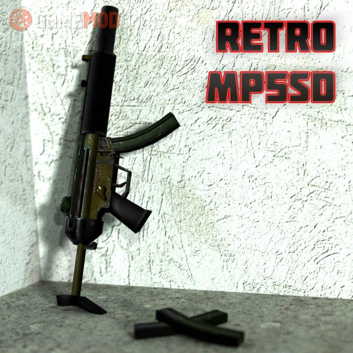 Retro MP5SD