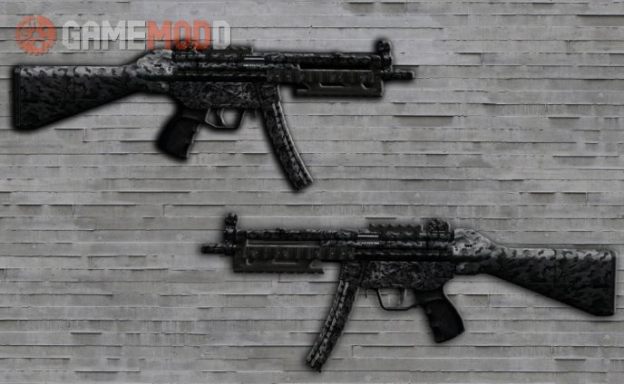 MW3 Navy MP5 Camo Retextured