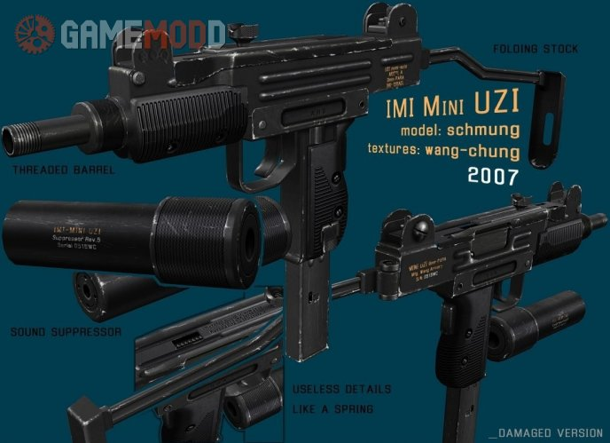 IMI Mini UZI On Peck's