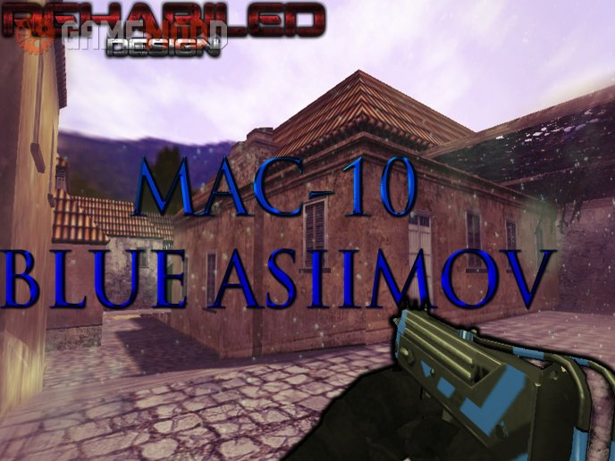 MAC-10  Blue Asiimov