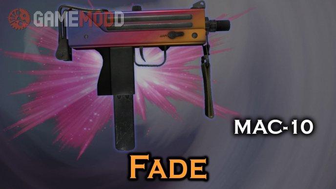CSGO Mac-10 Fade