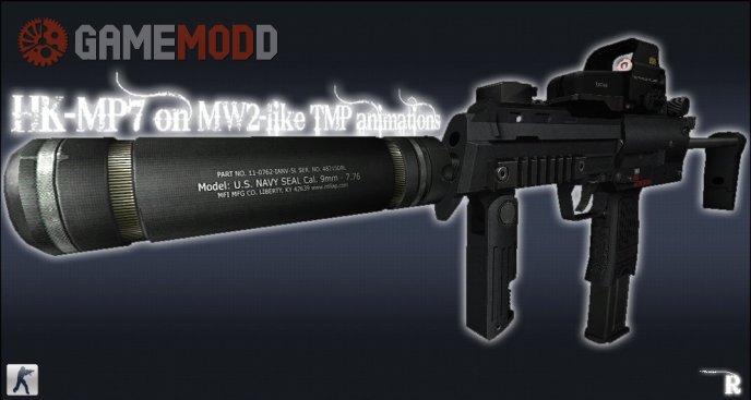 HK-MP7 on MW2-like TMP animations for CS