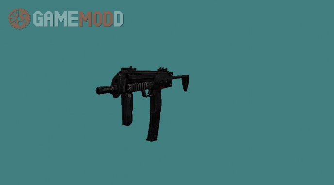 Battle Territory: Battery MP7 on Soldier11 Anims